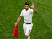 Luis Suarez hat eine bereits bewegte Karriere hinter sich (Bild: KEYSTONE/EPA/ROMAN PILIPEY)