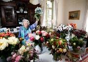 Edith Straub, feierte ihren 100 jährigen Geburtstag. Sie hatte ein bewegtes Leben und war die erste Anwältin des Kantons Zug. (Bild: Stefan Kaiser (Zug, 18. Juni 2018))