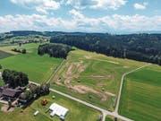 Die Motocrosspiste in Braunau nimmt Formen an. (Bild: Olaf Kühne)