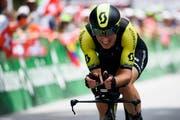Wird nicht an der Tour de France teilnehmen: Michael Albasini (Bild: Gian Ehrenzeller / Keystone)