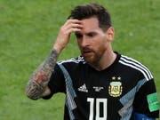 Gelingt Lionel Messi mit Argentinien der Befreiungsschlag? (Bild: KEYSTONE/EPA/ABEDIN TAHERKENAREH)