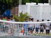 Die US-Armee soll zukünftig 20'000 unbegleitete Migrantenkinder unterbringen. (Foto: Brynn Anderson/AP) (Bild: KEYSTONE/AP/BRYNN ANDERSON)