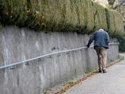 Fast die Hälfte der Sozialausgaben in der Schweiz fliessen in den Bereich «Alter». (Bild: KEYSTONE/STEFFEN SCHMIDT)