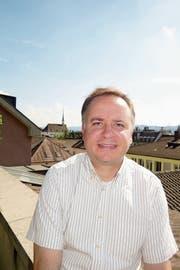 Marco Schmid koordiniert Living Stones. Auch in Zürcher Kirchen sind Führungen geplant. (Bild: Ralph Bohli/PD (Zürich, 8. Mai 2018))