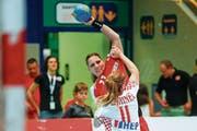 Die Ostschweizerin Karin Weigelt spielte Ende Mai das letzte Mal vor Heimpublikum für das Schweizer Nationalteam. (Bild: Marc Schumacher/Freshfocus)