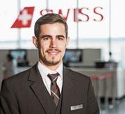 Manuel Bischof ist «stolz, die Uniform der Swiss zu tragen».