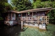 Bootshaus in Luzern: Privatsphäre und Romantik am Vierwaldstättersee. (Bild: PD)