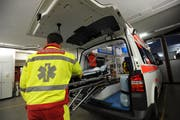 Mit dem Rettungsdienst ist im Kanton Uri das Kantonsspital beauftragt. (Bild: Archiv Urner Zeitung)