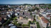 Auf dem Areal des Andreaszentrums soll ein neues Pflegeheim entstehen. Die Pläne sind umstritten. (Bild: Samuel Schalch/Benjamin Manser)
