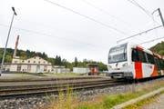 Diese Züge fahren seit fünf Jahren durchs Murgtal. (Bild: Donato Caspari)