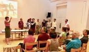Singend wurde der Verein Religionen im Dialog gegründet. (Bild: PD)