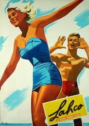 Werbung für Lahco, die «grosse Schweizer Marke», aus dem Jahr 1954. (Bild: PD)