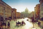 Dem Lebensgefühl in Italien – wie hier in Rom – kann sich keiner entziehen. (Getty