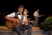 Will mit seiner Band die selbst komponierten Lieder spielen: der 19-jährige Mauro Hodel.