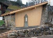 Die restaurierte Fischerhütte in Giswil. (Bild: PD)