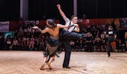 Pitt-Alexander und Tiara-Sophia Wibawa an den Schweizer Meisterschaften. (Bild: Reinhard Egli, dance-mag.com)