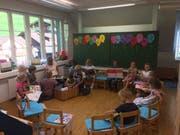 Schüler vom Kindergarten bis zur 2. Primarklasse werden in Isenthal gemeinsam unterrichtet. (Bild: PD)
