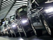 US-Präsident Donald Trump droht erneut mit Strafzöllen auf europäische Autos. (Bild: KEYSTONE/AP/MICHAEL SOHN)