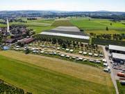 Lager der Fahrenden in Hefenhofen. (Bild: Donato Caspari)
