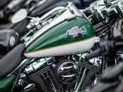 Die EU schlägt im Handelsstreit mit den USA zurück: Sie erhebt Gegenzölle auch auf Harley-Davidson-Motorräder. (Bild: KEYSTONE/TI-PRESS/GABRIELE PUTZU)