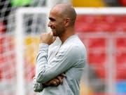 Will mit Belgien vor der letzten Runde in der Gruppe H alles klarmachen: Trainer Roberto Martinez (Bild: KEYSTONE/EPA/FELIPE TRUEBA)