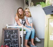 """""""Die Familie war und ist mir immer eine grosse Stütze"""": Pia Klingenfuss mit ihrer Tochter Léonie. (Bild: Roger Grütter)"""