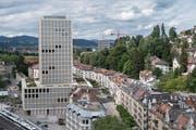 Die Fachhochschule St.Gallen. (Bild: Ralph Ribi)
