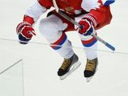 Ilja Kowaltschuk versucht sich nochmals in der NHL (Bild: KEYSTONE/AP/MARK HUMPHREY)
