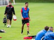 Zieht nach einer Saison mit Sion zu Leipzig in die Bundesliga weiter: Matheus Cunha (Bild: KEYSTONE/JEAN-CHRISTOPHE BOTT)
