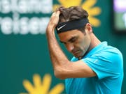Roger Federer verpasst gegen den Kroaten Borna Coric seinen 10. Turniersieg in Halle (Bild: KEYSTONE/DPA/FRISO GENTSCH)