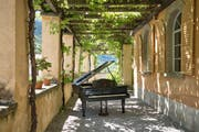 Von Zilla Leutenegger stammt das Solar-Piano.