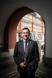 Ein Wechsel in die nationale Politik kommt für Franz Fässler nicht in Frage. (Bild: Benjamin Manser)