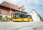 Trügerische Idylle: Postauto Schweiz kämpft nach dem Subventionsskandal um sein Image. (Bild: Andrea Stalder)