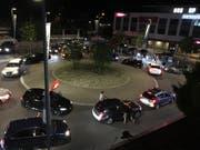 Auch in Wattwil feierten die Fans den Sieg der Schweiz. (Bild: PD)