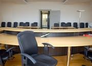 Ein Gerichtssaal im Rathaus Stans. (Bild: Markus von Rotz)