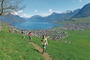 Die Via Urschweiz führt vom Urner- zum Vierwaldstättersee. (Bild: PD)