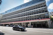 Die Senn Resources AG will das Parkhaus UG 25 am Unteren Graben auf 733 Parkplätze vergrössern – und fast die Hälfte davon öffentlich bewirtschaften. (Ralph Ribi)