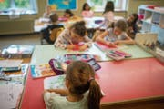 Eine Stärke der Horner Schulen ist gemäss der Schulevaluation das Lernklima in den Klassen. (Bild: Benjamin Manser)