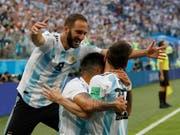Argentinien zog den Kopf aus der Schlinge (Bild: KEYSTONE/AP/PETR DAVID JOSEK)