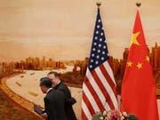 Die USA verschärfen Regeln für ausländische Investoren - im Fokus sind vorwiegend chinesische Aktivitäten. (Bild: KEYSTONE/EPA/WU HONG)