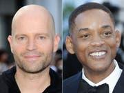 Der Schweizer Regisseur Marc Forster (l) und der US-Schauspieler Will Smith (r) haben zusammen eine Münchner Medienfirma gekauft. (Archivbilder) (Bild: Keystone)