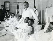 Sieben-Bett-Zimmer: 1905 in Uznach das Nonplusultra.