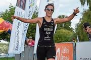 Sara Baumann aus Seedorf gilt als grosse Hoffnung am Uri Triathlon. (Bild: PD)