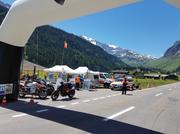 Traumhaftes Wetter lud viele Motorradfahrer zur Pässefahrt ein. Auf dem Urnerboden holten sie sich Tipps für sicheres Fahren. (Bild: PD)