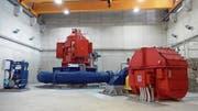 Das neue Kraftwerk Realp II wird am Samstag eingeweiht. (Bild: PD)