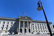 Das Bundesgericht in Lausanne. (Bild: Laurent Gillieron/Keystone)