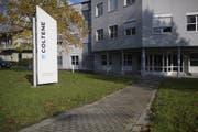 Der Sitz von Coltene in Altstätten. (Bild: Keystone)