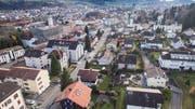Wittenbach und St.Gallen sind schon lange zusammengewachsen. Zu einer Fusion kam es vor 100 Jahren trotzdem nicht. (Bild: Ralph Ribi)
