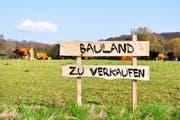 Nicht alle Eigentümer wollen ihr Bauland freiwillig verkaufen.zu verkaufen. (Bild: Fotolia)