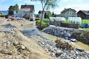 Knapp drei Millionen Franken kostet das Hochwsserschutzprojekt Hornbach. Bild: Max Eichenberger